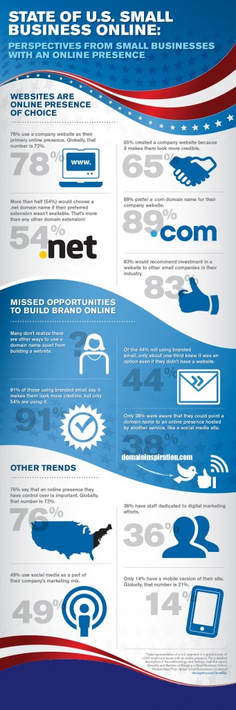 Small Business Websites and Technology